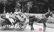 В усадьбе Горки. 1910-е