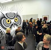 Открытие MA выставки лучших студенческих проектов. 2011