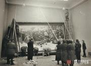 Повеска картины В.И.Сурикова «Боярыня Морозова». 1945