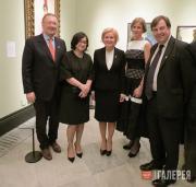 Открытие выставки «Россия и искусство» в Национальной портретной галерее