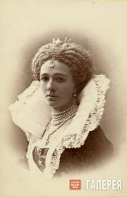 Вера Николаевна Третьякова. 1872