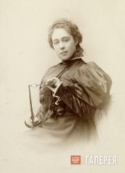 Александра Павловна Боткина, урожденная Третьякова. [1880-e]