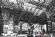 Сцена из I акта постановки оперы «Золотой петушок» для театра «Casino» в Виши. 1