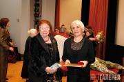 Первыи лауреат премии имени П.М.Третьякова Л.И.Иовлева и лауреат премии 2009 год