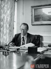 Ю.К.Королев, директор ГТГ с 1980 по 1992 год. 1984