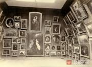Выставочный зал с картинами К.П.Брюллова, Ф.А.Бруни, С.К.Зарянко и др. в Городск