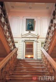 Парадная лестница дома С.М.Третьякова на Пречистенском бульваре