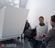 Открытие выставки Торил Юханссен. Трансцендентальная физика. 2010 г.
