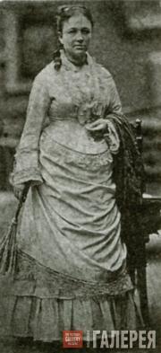В.Н.Третьякова. Фотография. 1876