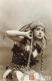 Тамара Карсавина – Жар-Птица. «Жар-Птица». Фотография. 1910