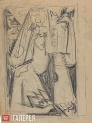Гончарова Наталия. Испанка. 1910–1920-е