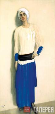 Леон Бакст Портрет Алис Гаррет. 1915