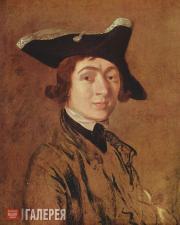 Гейнсборо Томас. Автопортрет. 1754