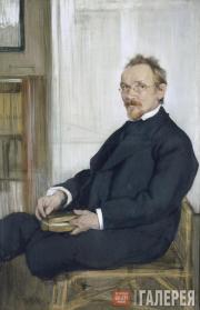 Бакст Леон. Портрет В.В. Розанова. 1901