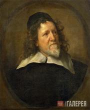 Антонис ван Дейк (1599–1641). Иниго Джонс. (1632–1634 или 1635–1636)