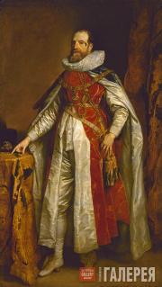 Антонис Ван Дейк (1599–1641). Портрет Генри Дэнверса, графа Денби