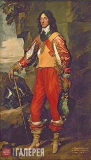 Антонис Ван Дейк (1599–1641). Портрет сэра Томаса Уортона, кавалера ордена Бани.