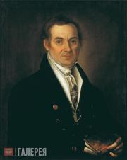 М.А.ВАСИЛЬЕВ. Портрет Н.Т.Баснина. 1824
