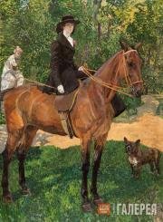 Портрет Е.П. Носовой. Не позднее 1914
