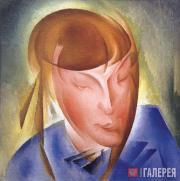 Александр БОГОМАЗОВ. Портрет дочки. 1928