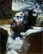 Голова распятого Христа. 1893