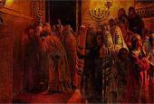 Суд синедриона. «Повинен смерти!» 1892