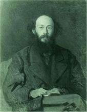 И.Н. КРАМСКОЙ. Портрет H.H. Ге. 1879 (?)