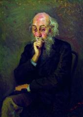 Г.Г.МЯСОЕДОВ. Портрет Н.Н.Ге. 1892-1893
