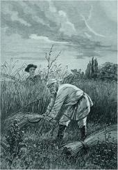 А. ДЕЙНЕКА. H.H. Ге на своем поле. 1895