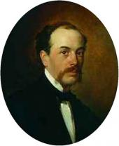 H.H. ГЕ. Портрет Г.Н. Ге. 1856