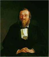 Портрет Н.И. Костомарова. 1870