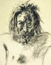 Голова Христа. 1893