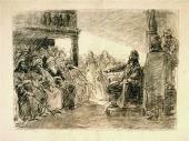 Христос в синагоге («Ныне исполнилось»). 1886