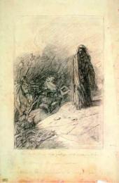 Искушение Христа («Отойди от меня, сатана!»). 1886