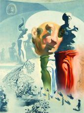 Этюд к картине. Галлюциногенный тореро. Около 1968-1970