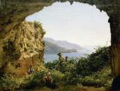 Сильвестр ЩЕДРИН. Грот Матроманио на острове Капри. 1827