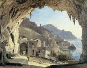Франц КАТЕЛЬ. Грот в Амальфи. 1818–1824