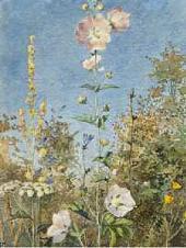 Цветы (Дикие мальвы). 1881
