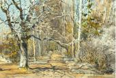 Аллея ранней весной. 1885–1889
