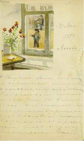 Письмо Е.Д. Поленовой М.В. Якунчиковой. 3/15 мая 1889
