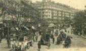 Париж. Итальянский бульвар. Почтовая открытка. Конец 1890-х – начало 1900-х