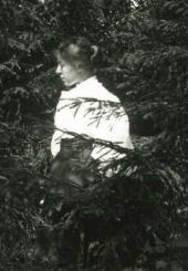 М.В.Якунчикова-Вебер. Любительское фото Л.Н. Вебера [1897–1898]