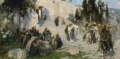 Кто из вас без греха. Из серии картин «Из жизни Христа» (Конец 1890-х – 1900-е)