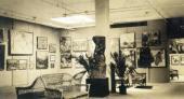 Общий вид экспозиции Выставки русского искусства. Нью-Йорк. 1924
