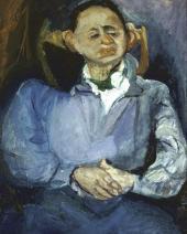 Портрет скульптора Оскара Мещанинова. 1923–1924