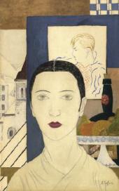 Александра БЕЛЬЦОВА. Автопортрет. 1927–1928