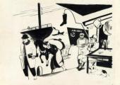 Роман СУТА. В порту. Из серии «Повседневная жизнь». 1929