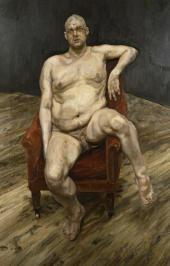 Ли Бауэри (сидящий). 1990