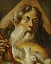 Г.Г. ПЛАСТОВ Бог Саваоф. 1880-е