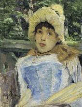 Константин КОРОВИН Портрет хористки. 1887
